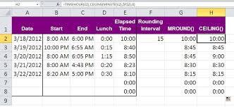 Three Tips For Rounding Excel Time Values Techrepublic