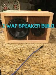 picture of diy speaker 2 way