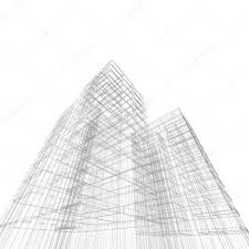 architecture blueprints 3d. Architecture Blueprint 3d Render On White Photo By 1xpert Blueprints
