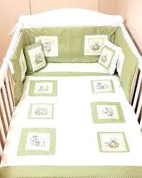 baby room peter rabbit crib bedding set pottery barn
