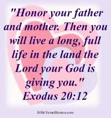 Bible verse about family - Exodus 20:12 #bibleverses #bible verse ...