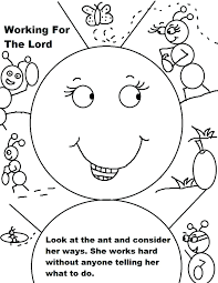 School Coloring Pages For Preschoolers Sunday Forgiveness ...
