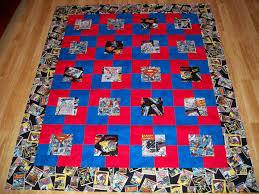Superhero quilts and blankets | Gorram Quilts & Superman Adamdwight.com