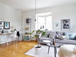 home office in living room. Apartment Living Room Office Home In O