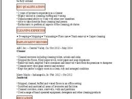 Groundskeeper Resume Example Best Template Collection