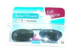 New Solar Shield Premium Polar Lens Rimless Polarized With