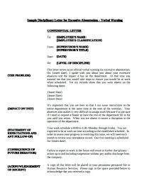 Verbal Warning Forms Employee Template Form 9 Stiropor Idea