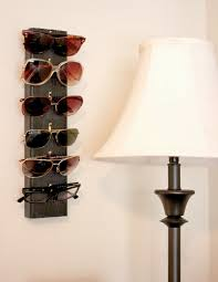 An easy diy project to hang all your sunglasses you just need some picture  hangers and