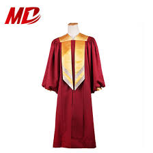 Choir Robe Size Chart China Factory Sale Elegant Maroon Deluxe Choir Robes With