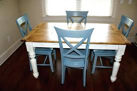 farmhouse table with metal legs diy style quality crafted farm using dining farmho