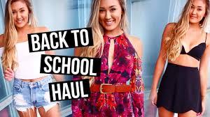 huge back to school haul 2016 laurdiy