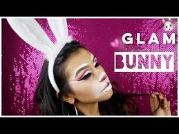 glam bunny makeup tutorial 2017 monika zamudio makeup