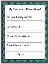 new year s resolutions goals craft classroom crafts kid friendly new year s resolution printable