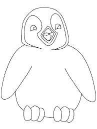 Penguin Color Page Cute Penguin Coloring Pages Penguin Color By