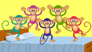 five little monkeys kids s and nursery rhymes for children intended for no more monkeys jumping