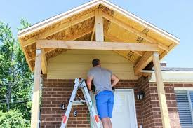 adding a front porch to an existing house