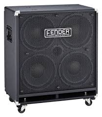 Fender 4x10 Guitar Cabinet Extension Cabinet Rumble V2 410 Cover
