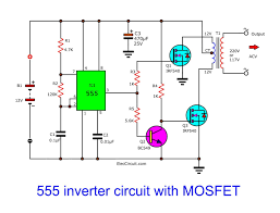 Inverter Circuit Design Using Mosfet Pin On Electronics