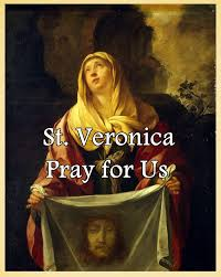 St. Veronica (Feast Day – July 12)