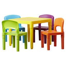 Plastic Table Chair Set Kids Plastic Chairs And Tables