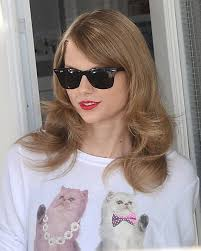 Taylor Swift New Hair Style taylor swift tried something different with her hair yesterday 3343 by stevesalt.us