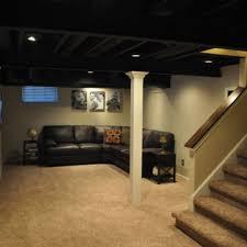painted basement ceiling. Ideas Of Painted Basement Ceiling Jeffsbakery Mattress Painting A Black Home Wallpaper