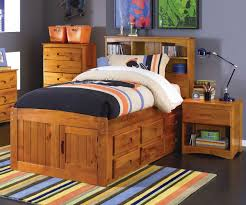 Bookcase Bedroom Furniture Ridgeline Twin Size Bookcase Captains Bed Bed Frames Discovery