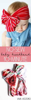 how to make diy tshirt headbands