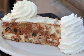 Cheesecake Factory Carrot Cake Cheesecake Recipe With A Glass Of