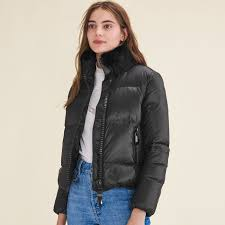 GABANI Cropped quilted down jacket - Coats - Maje.com & Cropped quilted down jacket Adamdwight.com