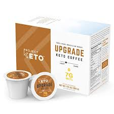 Certified clean ground coffee, tested for toxins, rainforest alliance certified, bulletproof process. Project Keto Upgrade Coffee Pods 24 Count With 7g Mcts For Sustained Energy Heightened Cognition Metabolism And Weight Loss Support Paleo Non Gmo Gluten Free Compatible With Keurig 2 0 Buy Online In Kuwait