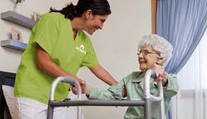 Image result for pictures of senior citizens with caregivers