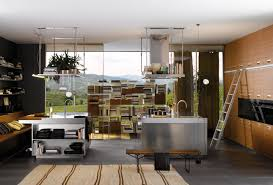 Overhead Kitchen Cabinets Modern Italian Kitchen Design From Arclinea