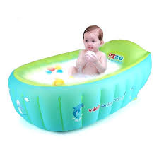 baby bath tub ring new baby inflatable bathtub swimming float safety bath tub swim accessories kids