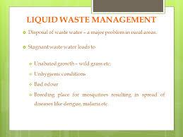 Liquid Waste Management In Rural Areas Haryana. Liquid Waste ...