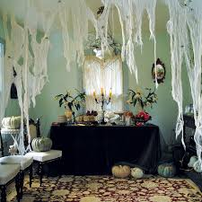 Interior: House Decor For Halloween Indoor Using White Hanging ...