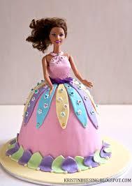 Kristin Buesing Barbie Cake For A Birthday Girl
