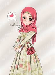 14+ Anime Muslimah Cute Wallpaper ...