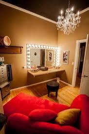 makeup vanity lighting. i would love to have a makeup room like this u003c3 soon vanity lighting e