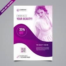 Beauty Flyer Design Vector Premium Download