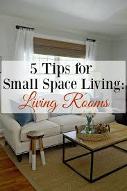 5 Decorating And Storage Tips For Small Space Living Living Rooms Small Living Room Furniture Living Room Design Small Spaces Small Space Living Room
