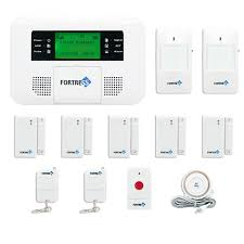 fortress gsm a wireless cellular gsm home security alarm system auto dial system diy