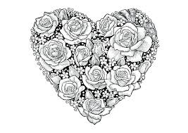Heart Coloring Pages For Adults 9viq Love Mandala Coloring Pages Of