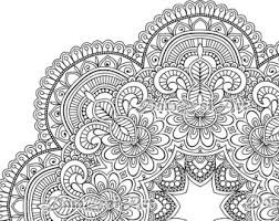 Small Picture Mandala coloring Etsy