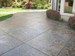backyard stamped concrete ideas for invigorate poured concrete patio