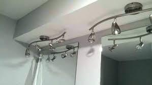 bathroom track lighting ideas. Vanity Track Lighting Excellent Bathroom Ideas . G