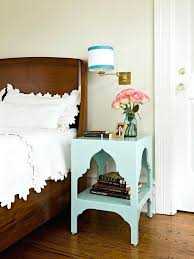 tall narrow bedside table small white
