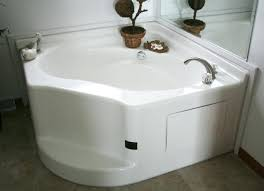 garden tubs for mobile homes home corner tub with shower 54 x 40