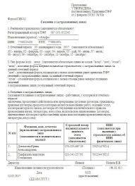СЗВ М за май года бланк образец заполнения Как заполнить сведения о застрахованных лицах для ПФР