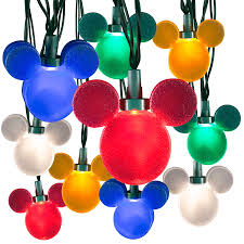 Mickey Shaped Christmas Lights My Disney Life Fun Find Disney Magic Holiday